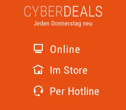 Spare bei den Deals von cyberport bares Geld.